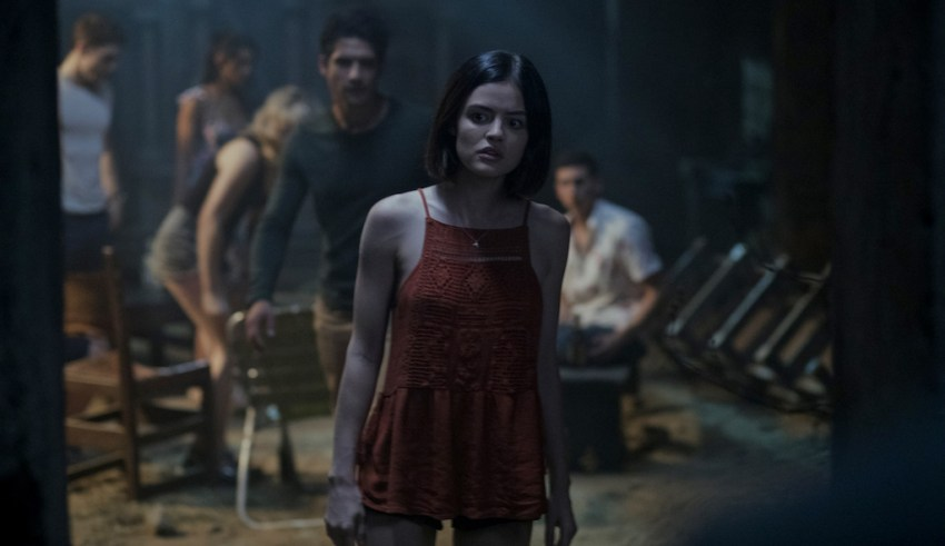 Lucy Hale stars in Blumhouse's TRUTH OR DARE