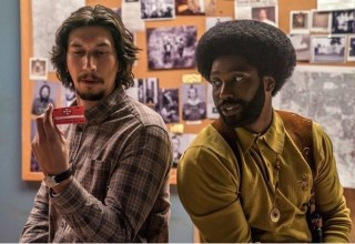 Adam Driver and John David Washington star in Focus Features' BLACKKKLANSMAN