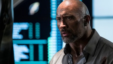 Dwayne Johnson stars in Universal Pictures' SKYSCRAPER