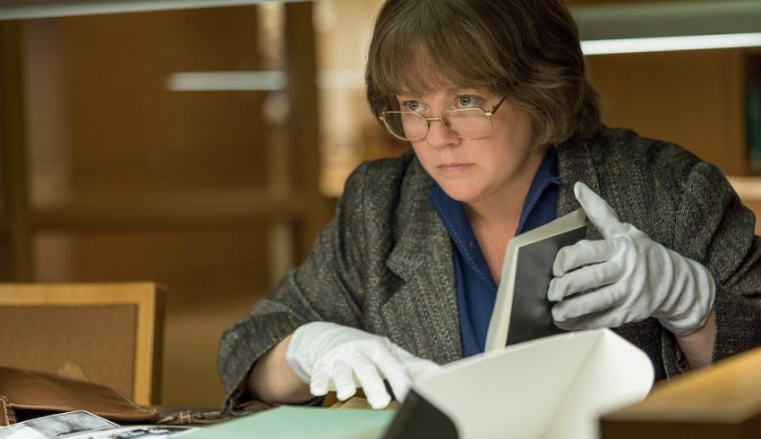 Melissa McCarthy stars in Fox Searchlight's CAN YOU EVER FORGIVE ME?