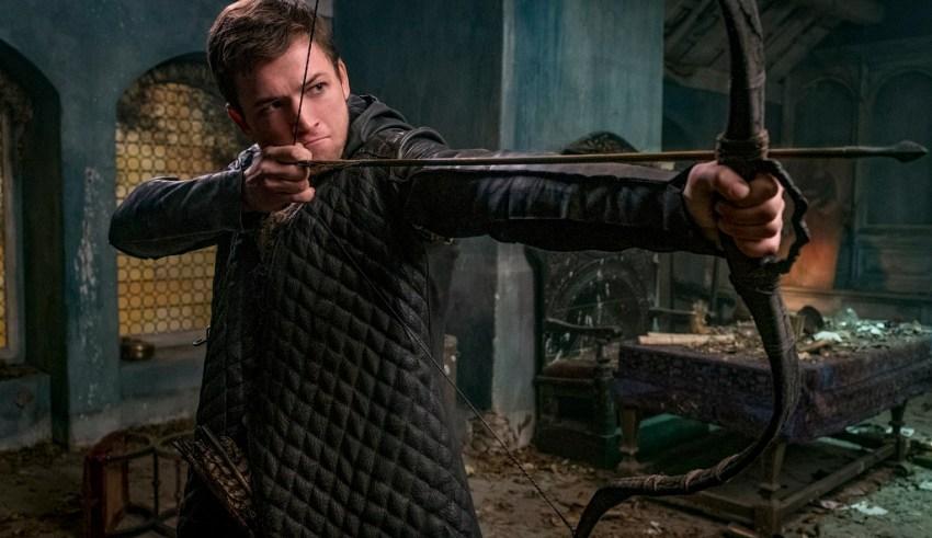 Taron Egerton stars in Lionsgate's ROBIN HOOD