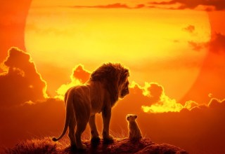 Poster image of Walt Disney Pictures' THE LION KING