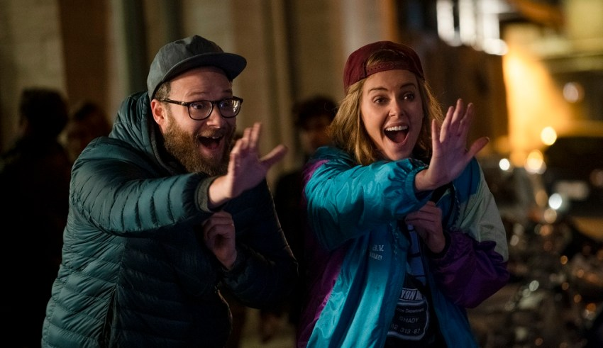 Seth Rogen and Charlize Theron star in Lionsgate Films' in LONG SHOT
