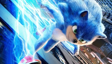 Poster image of Paramount Pictures' SONIC THE HEDGEHOG