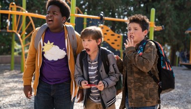 (L-R) Keith L. Williams, Jacob Tremblay and Brady Noon star in Universal Pictures' GOOD BOYS
