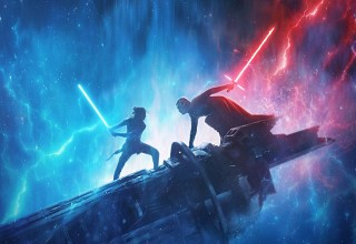 Poster image of Lucasfilms' STAR WARS: THE RISE OF SKYWALKER