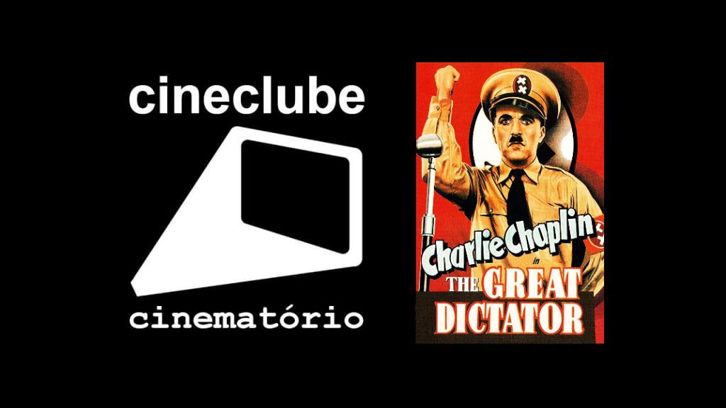 """cineclube cinematório: """"O Grande Ditador"""" (1940)"""