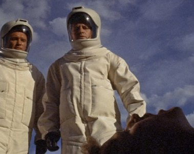 """""""O Enigma de Andrômeda"""" (The Andromeda Strain, 1971) - Distribuição: Universal Pictures"""