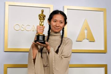 """Chloé Zhao venceu o Oscar de Melhor Direção por """"Nomadland"""" - Foto: The Telegraph"""