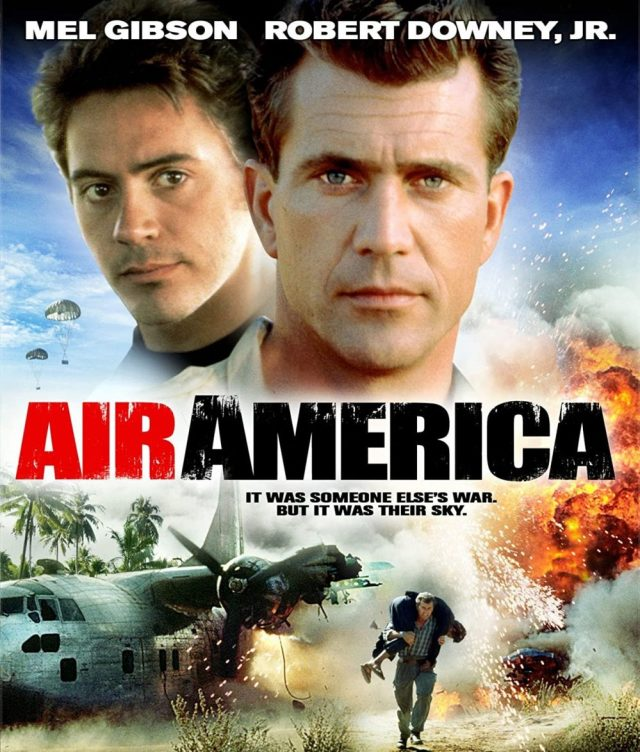 Air America, Mel Gibson, Tony Stark, Roger Deakins y la guerra del Vietnam