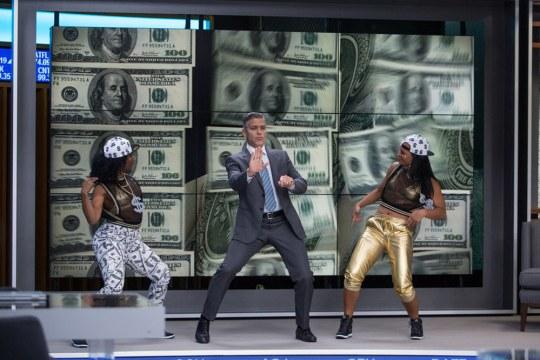 George Clooney (Lee Gates) - in uno dei suoi siparietti