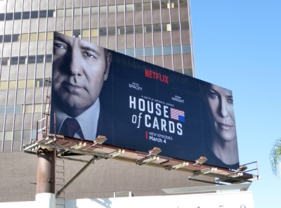 House of cards 4 billboard
