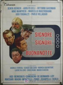 Poster do filme Senhoras e Senhores, Boa Noite