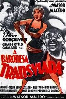 Poster do filme A Baronesa Transviada