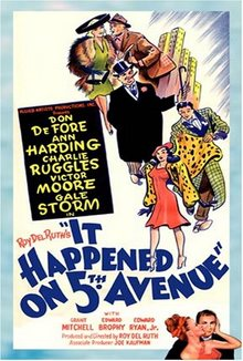 Poster do filme Aconteceu na Quinta Avenida