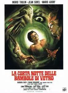 Poster do filme A Breve Noite das Bonecas de Vidro