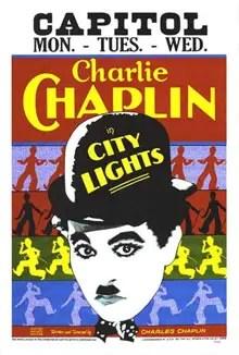 Poster do filme Luzes da Cidade