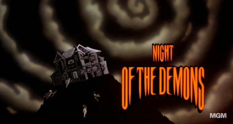 Weird Beyond Belief Its Halloween Night >> Every Day Is Halloween Night Of The Demons 1988 Cinepunx