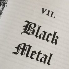 BOOKSHELF: BLOOD, FIRE, DEATH Gives a Human Face to Extreme Metal
