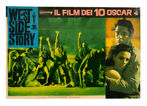Original poster West Side Story