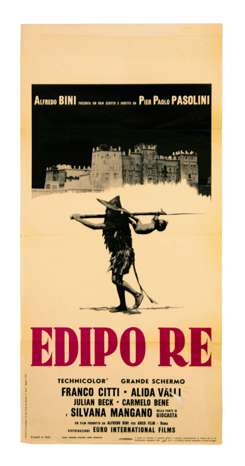 Original Poster Edipo Re from Pier Paolo Pasolini