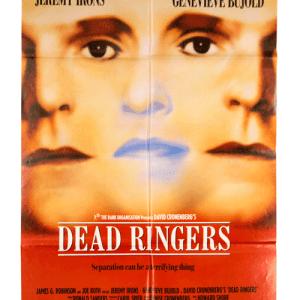 Dead Ringers David Cronenberg film poster original