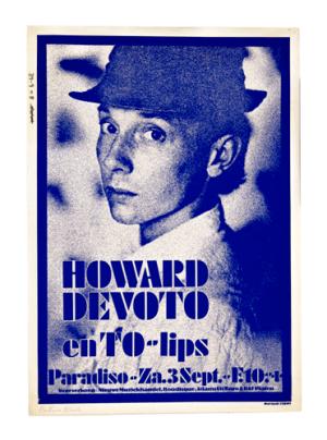 Paradiso poster Howard Devoto