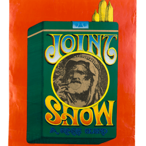 Psychedelic poster 60's Joint Show original