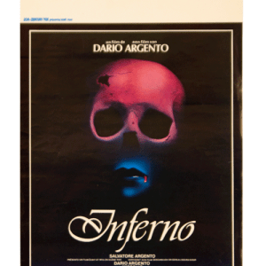 Dario Argento Inferno Italian horror original filmposter movie