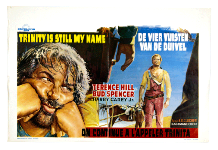 Terrence Hill Bud Spencer original Trinity is still my name