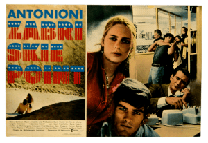 Zabriskie Point original vintage movie filmposter Antonioni
