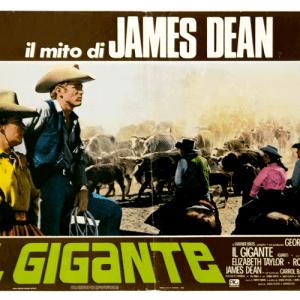 James Dean Giant vintage poster