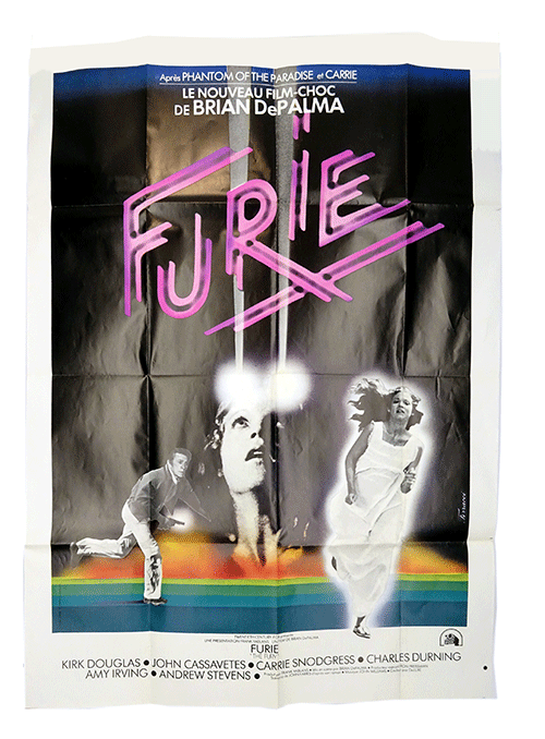 The Fury filmposter Brian de Palma
