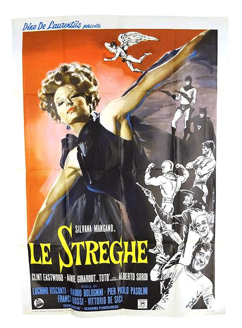 Le Streghe (1967) Italian film poster