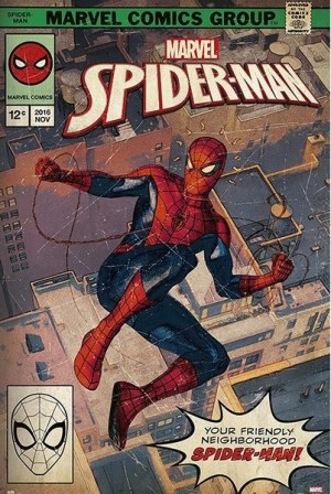 Spiderman Marvel poster