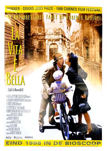 La vita e Bella poster