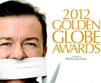 Ricky Gervais, Globos de Oro 2012