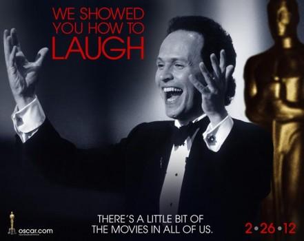 Billy Cristal presenta los Oscar 2012.