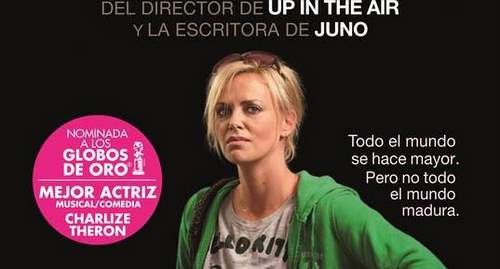 Young adult de Charlize Theron