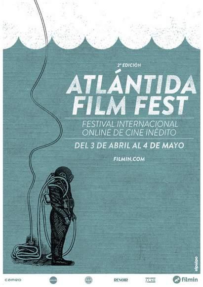 Póster del Atlántida film fest.