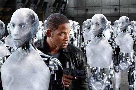 Yo Robot en Blu-Ray 3D.