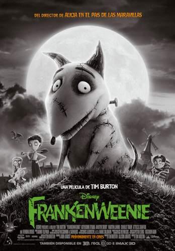 Póster de Frankenweenie.