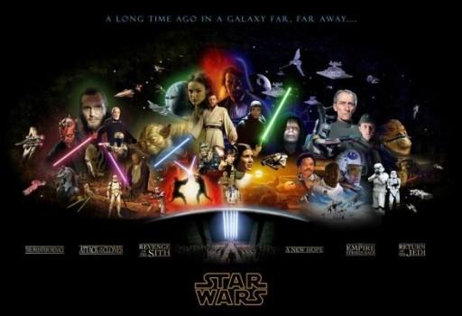 Star Wars la saga en 3D.
