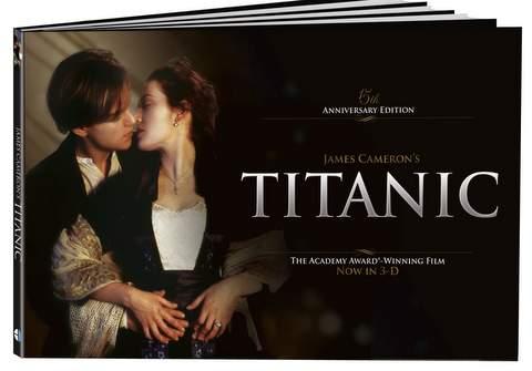 Libro rodaje de Titanic.