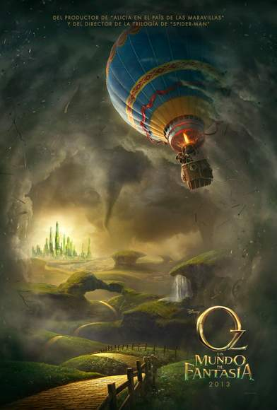 Póster de Oz, un mundo de fantasía.