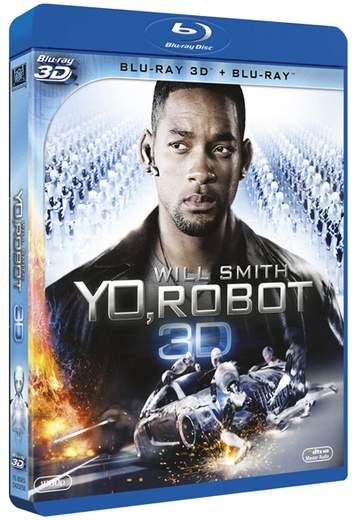 Yo, Robot caratula Blu-ray.