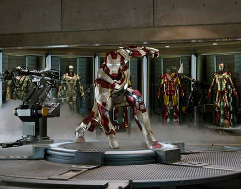 Imagen de Iron Man 3.