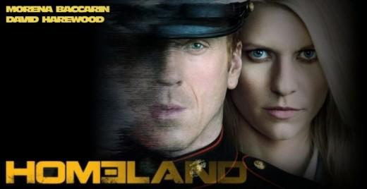 Banner de 'Homeland'.