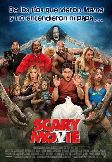 "Póster de ""Scary Movie 5""."