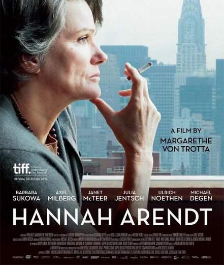 """Póster de """"Hannah Arendt""""."""